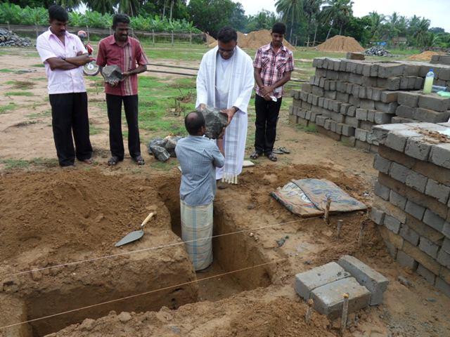 Claretians take further steps to serve in Kilinochchi