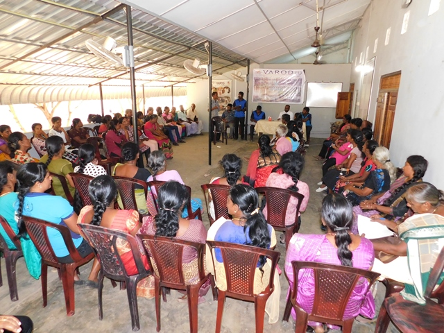 VAROD Holds CRC (Community Rehabilitation Committee) Conference for the Differently Abled People Groups in the District of Kilinochchi