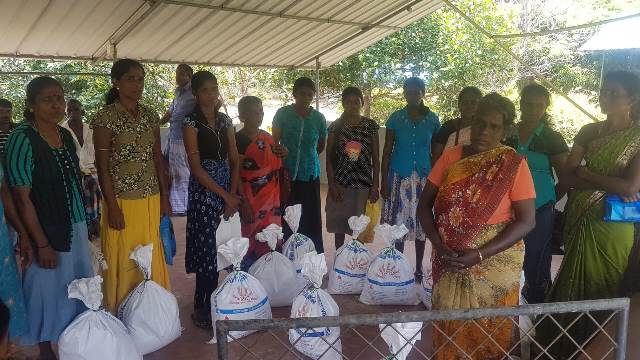 FLOOD RELIEF WORK IN VANNI; LENDING A HAND TOWARDS IMPOVERISHNESS